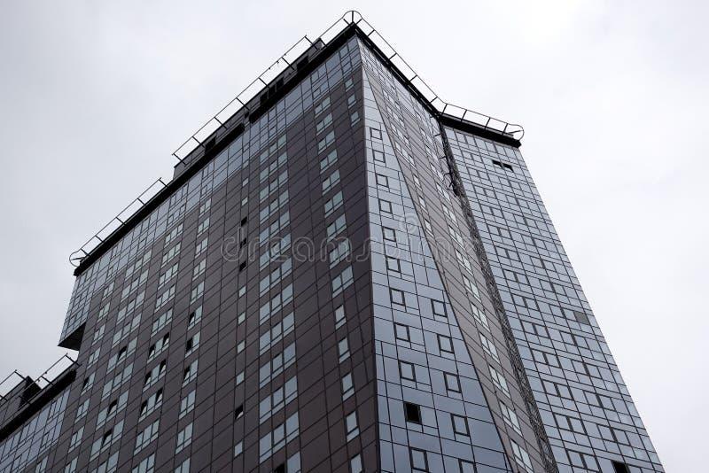 Skyscraper in the megalopolis. City building stock photos