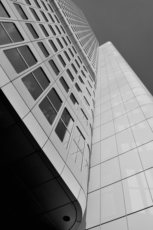 Skyscraper Modern Architecture Details Royalty Free Stock