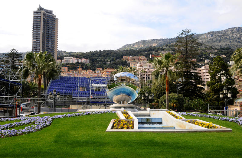 Download Skyscraper  of Monaco editorial stock photo. Image of international - 18335018