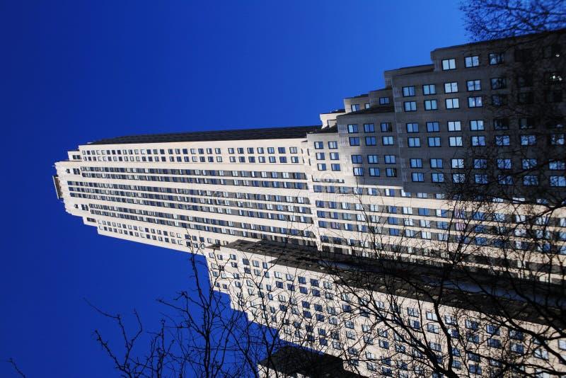 Skyscraper, New York stock photography