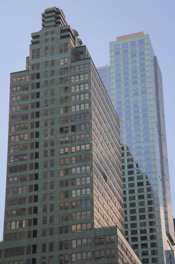 Skyscraper of New York stock image