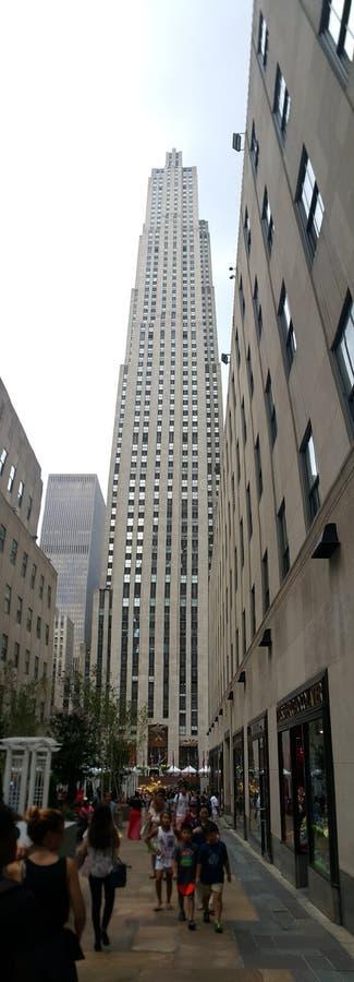 Skyscraper New York NYC Manhattan royalty free stock photography