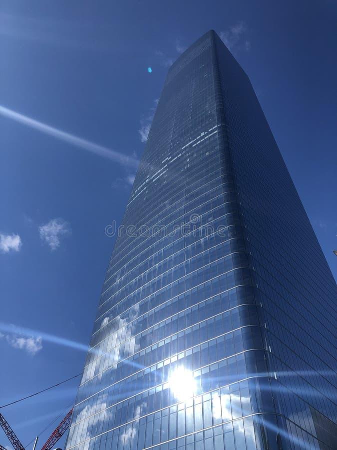 Skyscraper nyc stock images