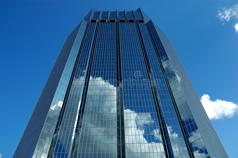 Download Skyscraper Reflection stock photo. Image of banking, office - 11120278