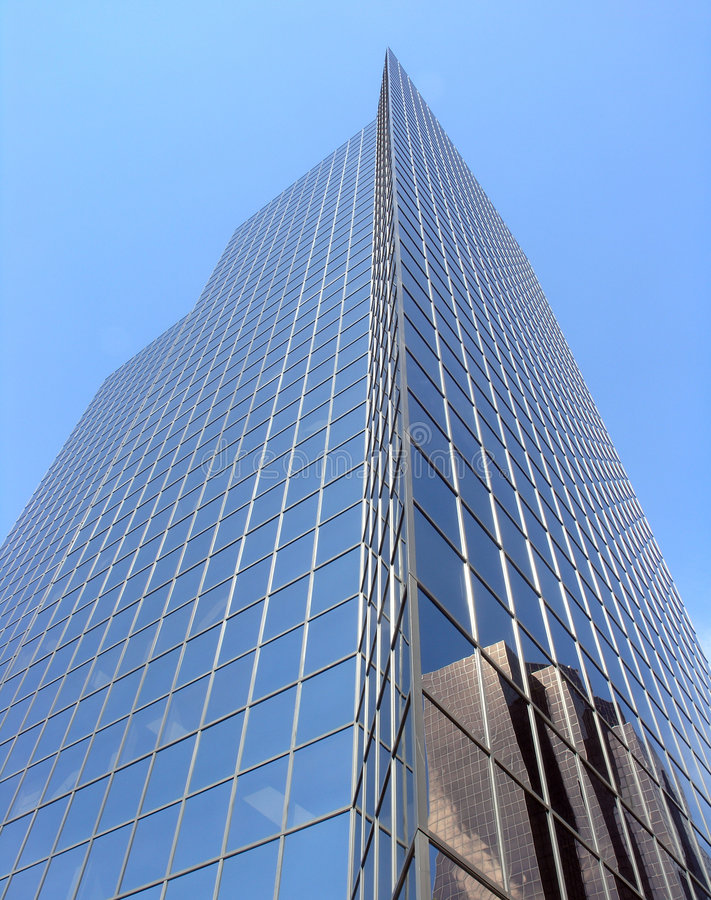 Download Skyscraper with reflection stock photo. Image of reflection - 230634
