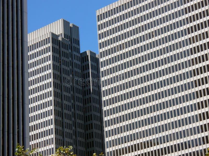 Skyscraper in san francisco stock image