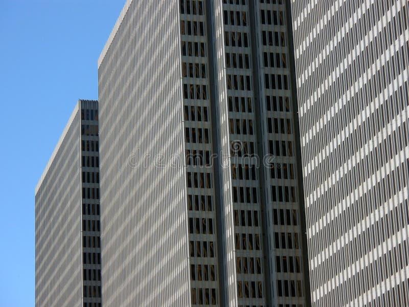 Skyscraper in san francisco. Skyscraper and blue sky in san francisco stock photography