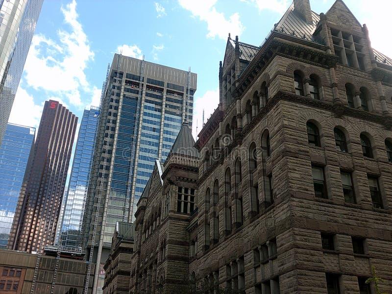 Skyscraper in Toronto royalty free stock image