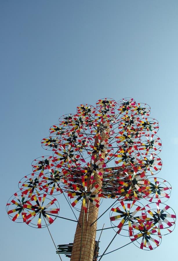 Windmills royalty free stock photography