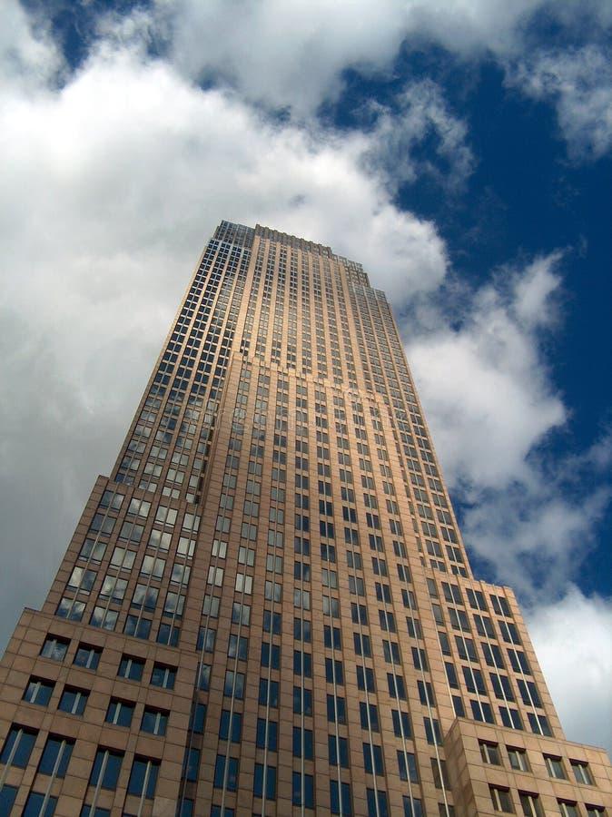 Free Skyscraper Under A Cloudy Blue Sky Stock Photo - 201740