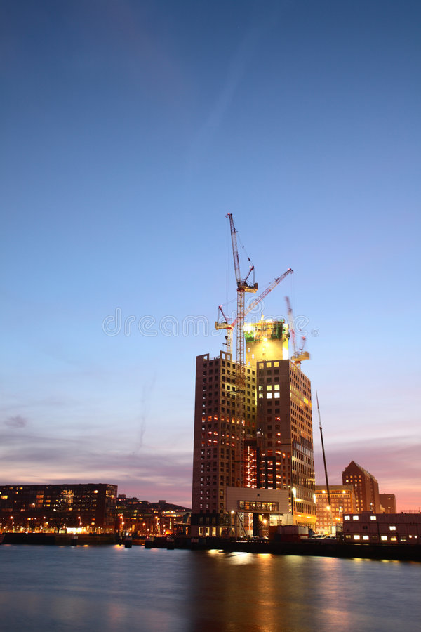 Download Skyscraper Under Construction Royalty Free Stock Photos - Image: 7371548