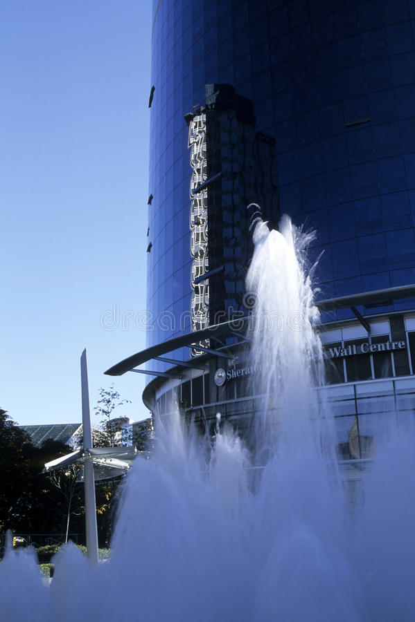 Download Skyscraper- Vancouver, Canada Stock Image - Image: 12046411