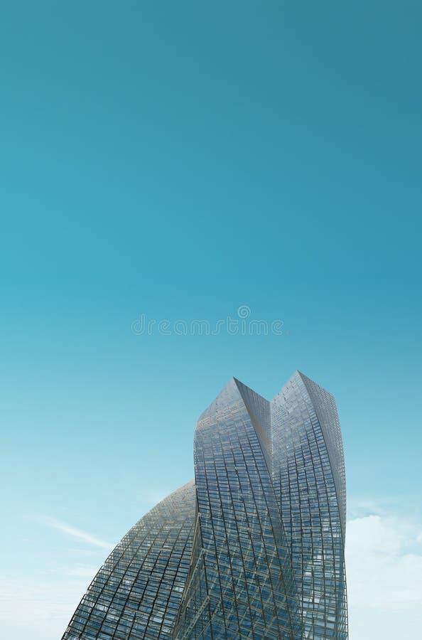 Skyscraper vertical image stock images
