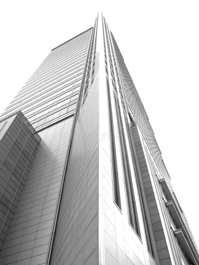 Skyscraper in Warsaw, Poland. stock images