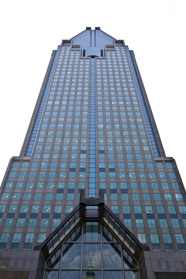Download Skyscraper on White stock image. Image of steel, offices - 19925997
