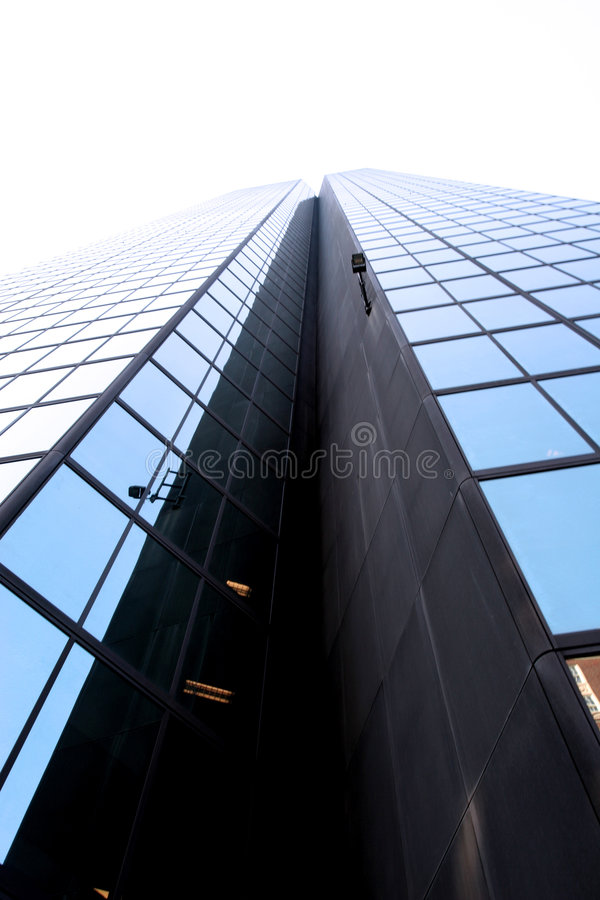 Skyscraper wide angle stock photos