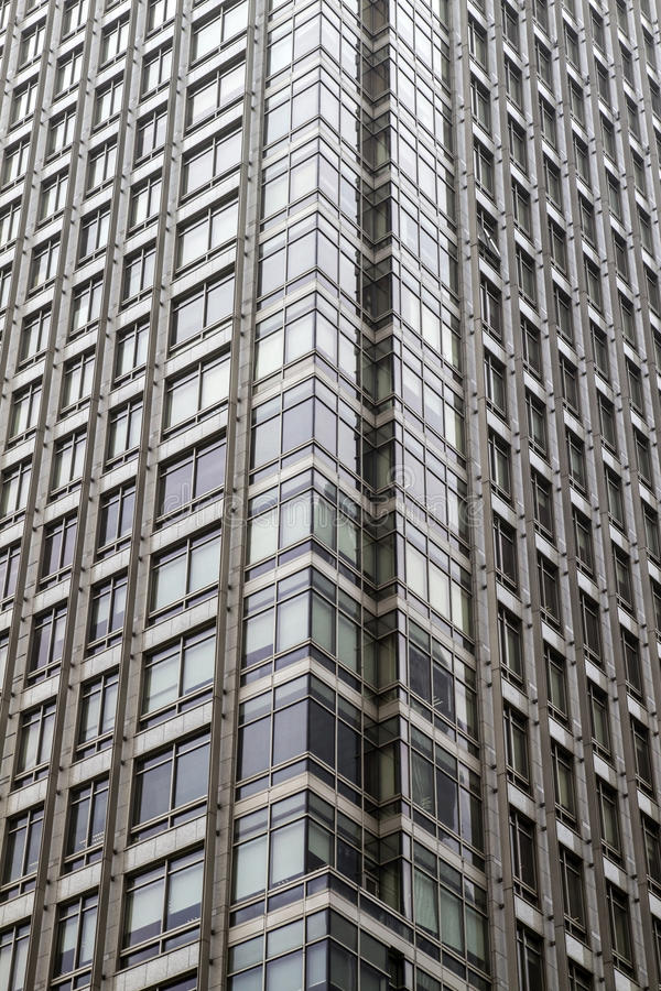 Skyscraper windows royalty free stock images