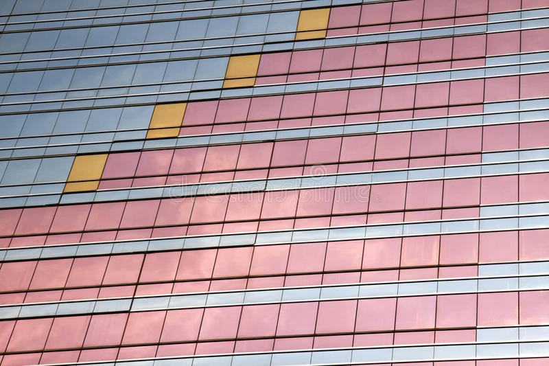 Skyscraper windows background royalty free stock photography