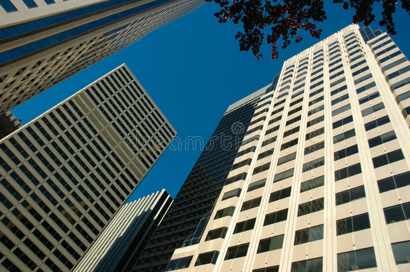 Download Skyscrapers stock image. Image of exterior, center, contemporary - 1408977