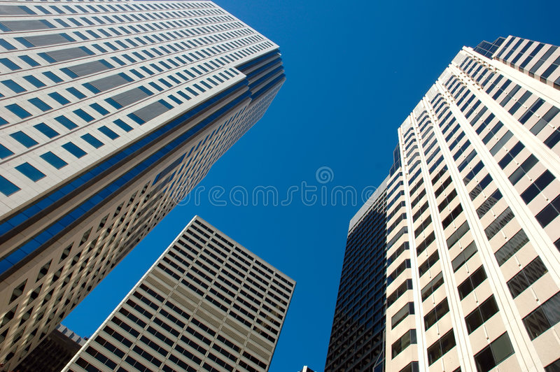 Skyscrapers Royalty Free Stock Photo