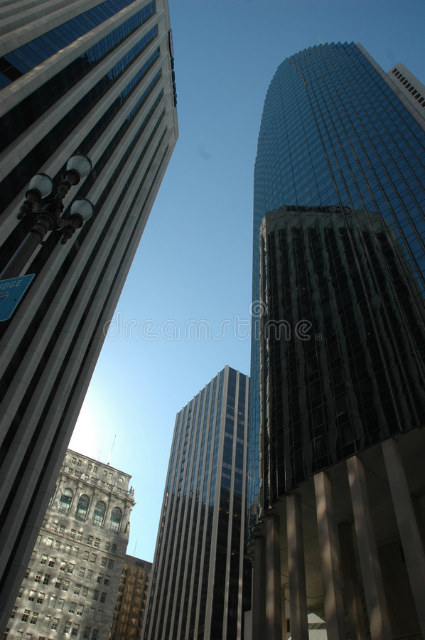 Download Skyscrapers stock image. Image of commercial, outdoor - 1409001