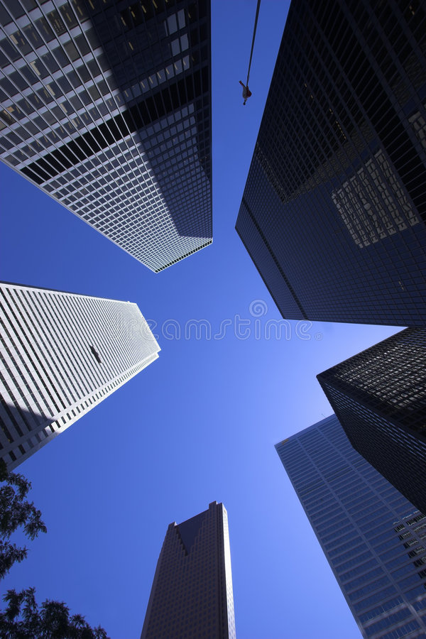 Download Skyscrapers stock image. Image of downtown, grey, glass - 2672373