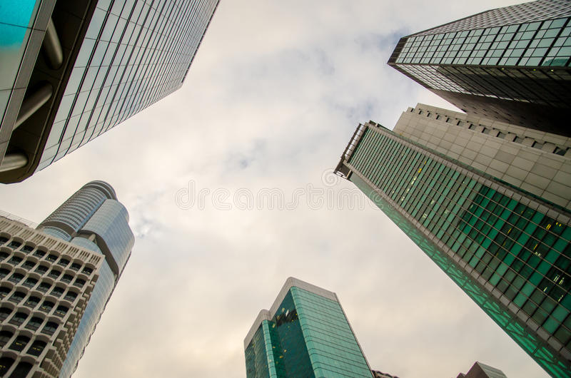 Download Skyscrapers stock image. Image of concrete, brick, business - 27458625