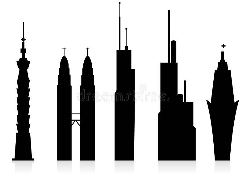 Download Skyscrapers stock illustration. Image of urban, creative - 5451106