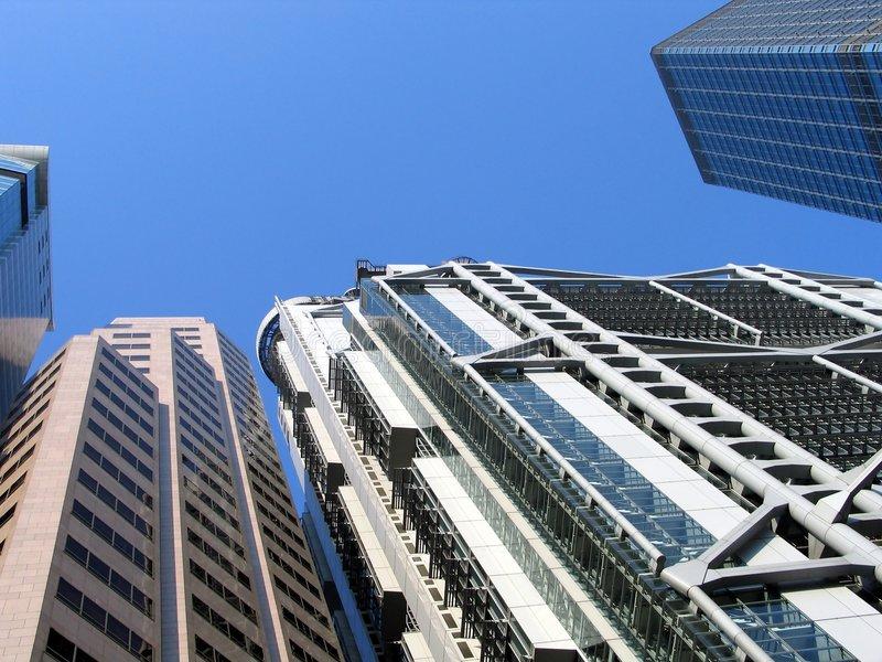 Download Skyscrapers Royalty Free Stock Images - Image: 54599