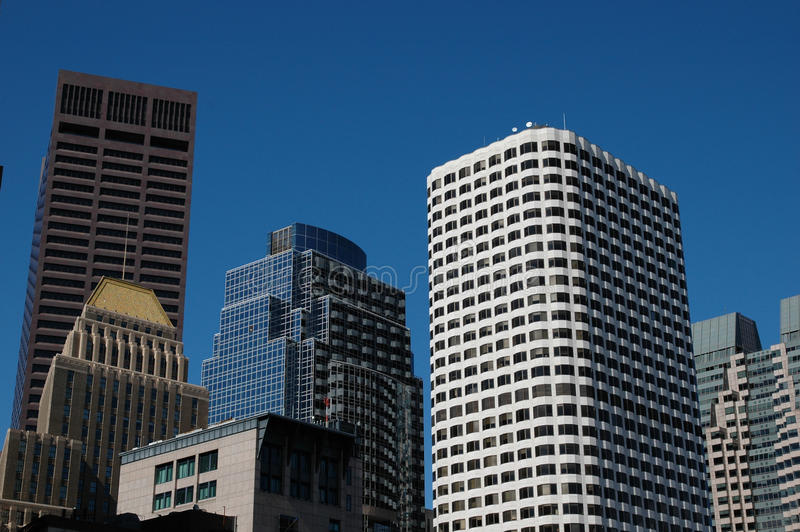 Download Skyscrapers stock photo. Image of bank, clear, reflection - 9718986