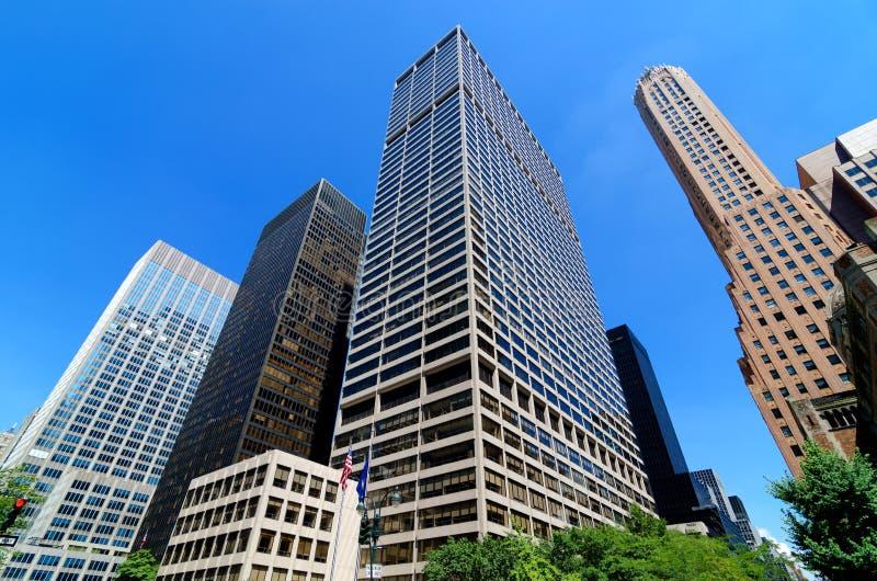 Skyscrapers along Park Avenue.