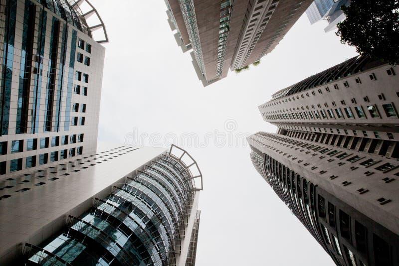 Skyscrapers of the big city. Kuala-Lumpur. stock photography