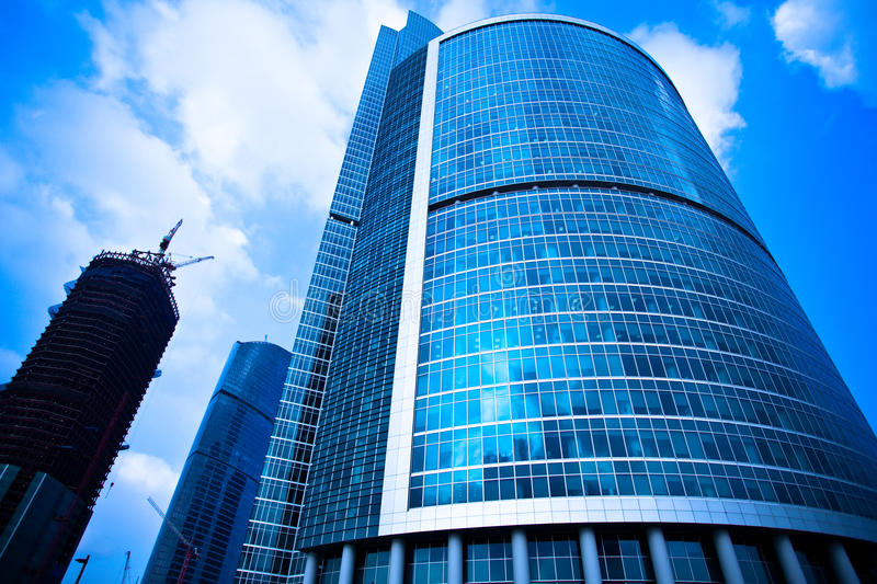 Download Skyscrapers Business Centre Constructions Stock Image - Image: 9472571