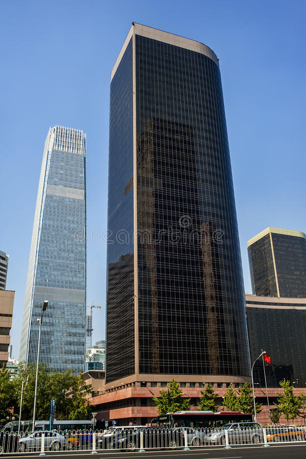 Download Skyscrapers in CBD area stock photo. Image of business - 27451086