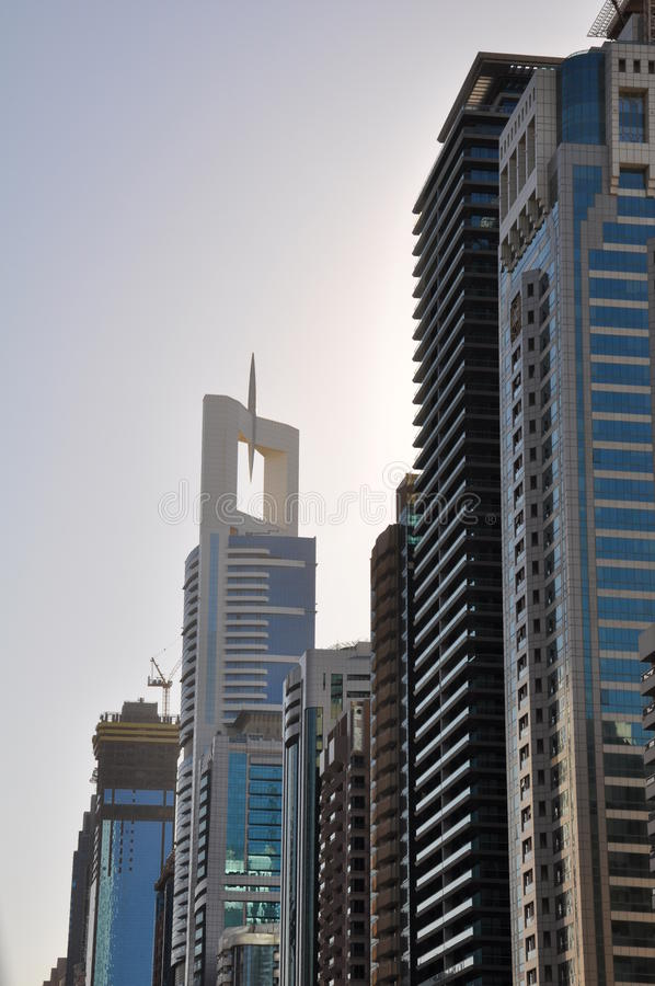 Download Skyscrapers In Dubai Royalty Free Stock Photography - Image: 22753047