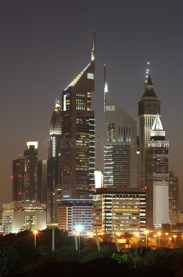 Download Skyscrapers in Dubai stock photo. Image of middle, buildings - 23570210