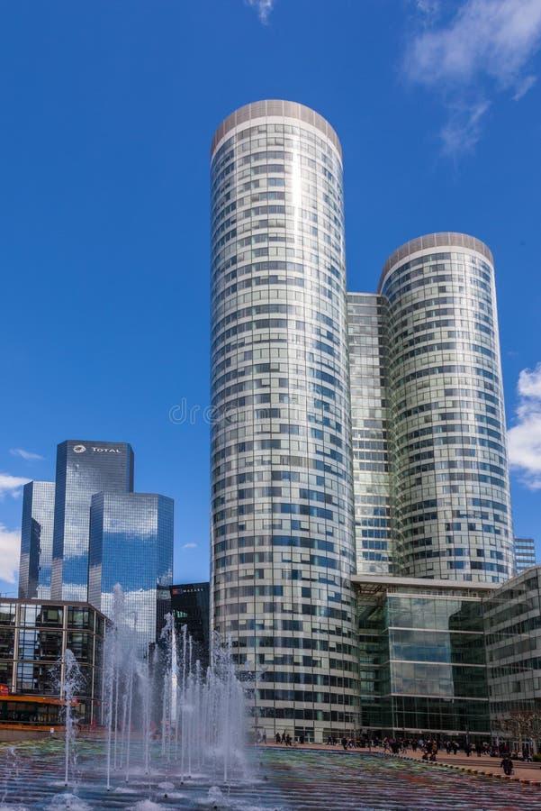 Skyscrapers in La Defense royalty free stock photography