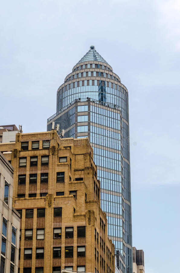 Download Skyscrapers In Manhattan Royalty Free Stock Photos - Image: 33129438