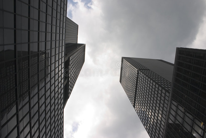 Skyscrapers in Manhattan (New York) stock image