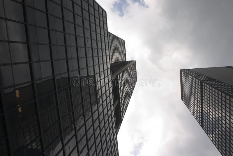 Skyscrapers in Manhattan (New York) stock images