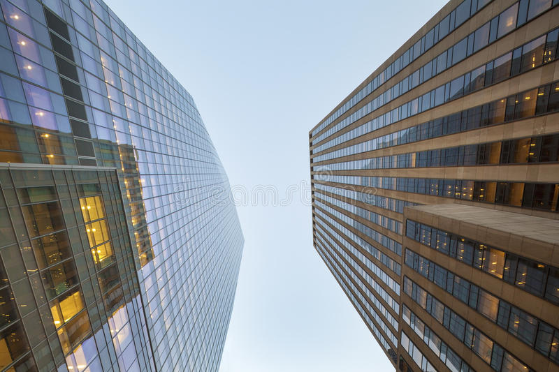 Skyscrapers is New York City royalty free stock photography