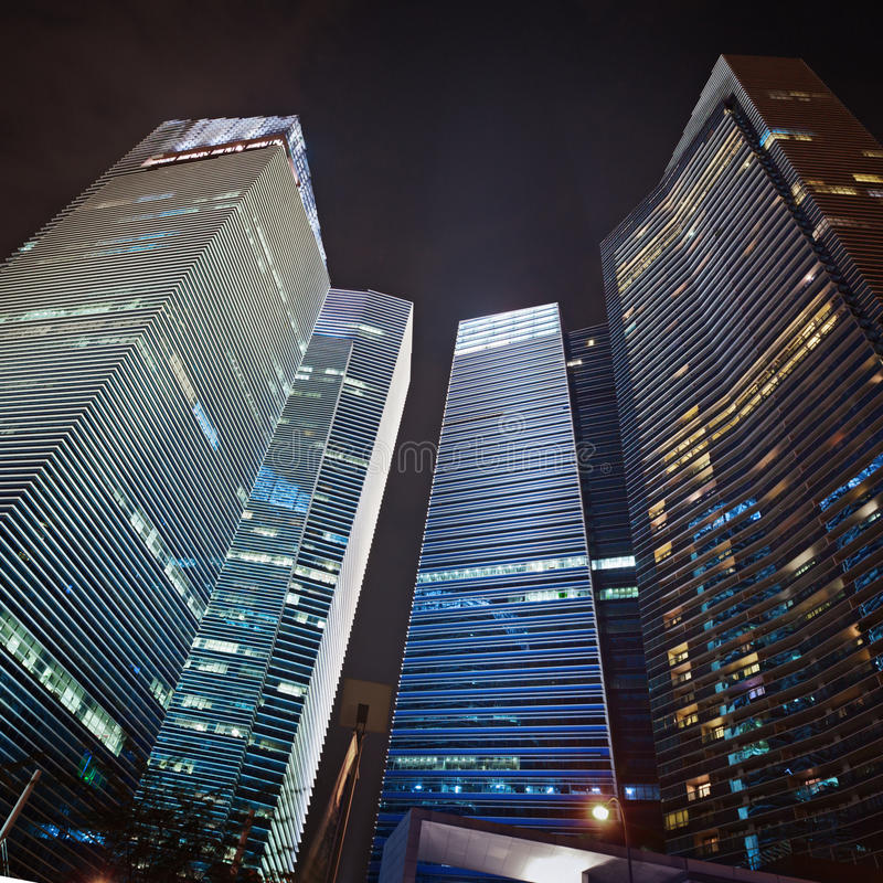 Free Skyscrapers Of The Financial Center Royalty Free Stock Images - 28902739