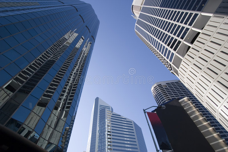Download Skyscrapers Perspective Stock Photos - Image: 1423193
