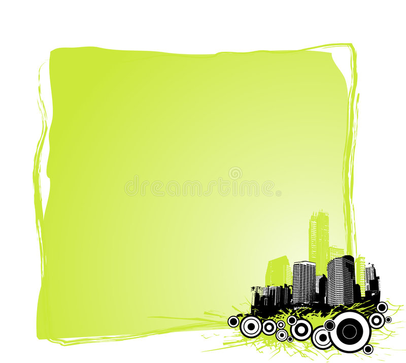 Download Skyscrapers With Place For Text. Royalty Free Stock Images - Image: 4209799