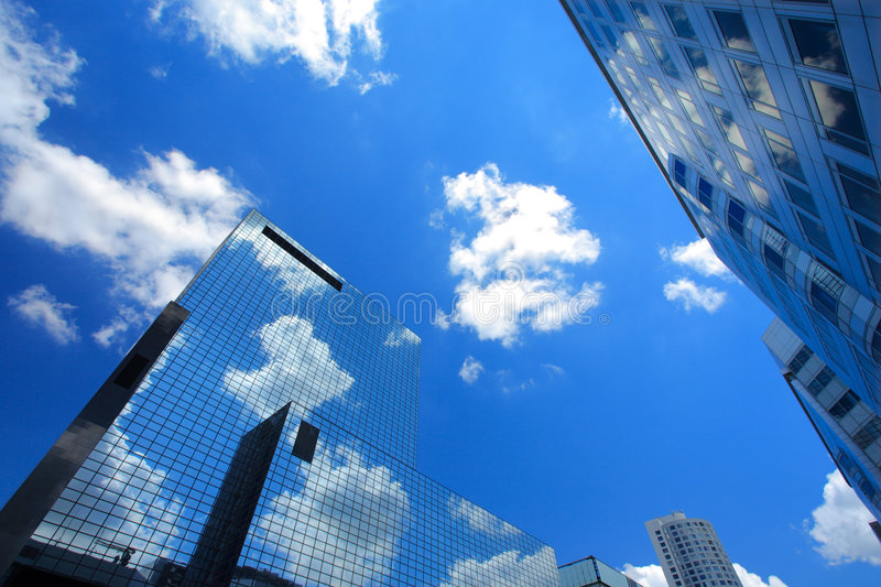 Download Skyscrapers In Rotterdam, Holland Stock Photo - Image: 6822044