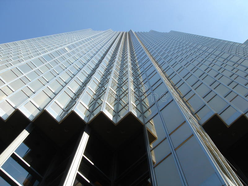 Skyscryper with many angles stock images