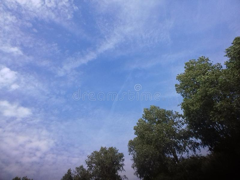 Skysilence стоковые фото