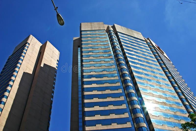 Download Skyskrapa fotografering för bildbyråer. Bild av struktur - 289387