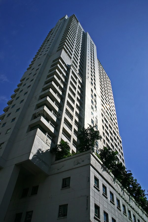 Download Skyskrapa arkivfoto. Bild av högt, futuristic, städer, stigning - 289392