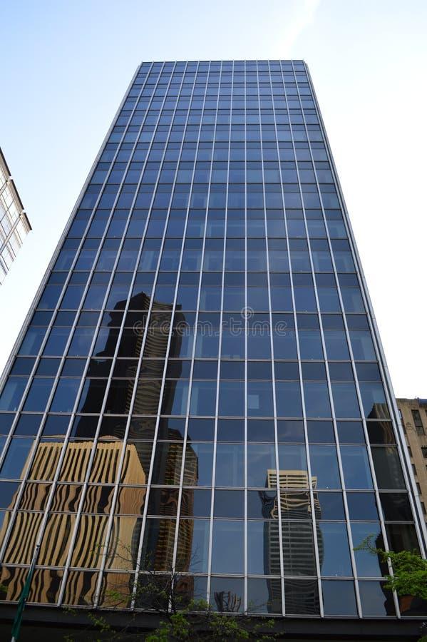Skyskrapa för 800 Fifth Avenue i Seattle royaltyfria foton